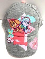 Nickelodeon Girls' Paw Patrol Cotton Baseball Cap Hat - Toddler
