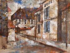 Peintures du XXe siècle et contemporaines gouaches sur toile paysage