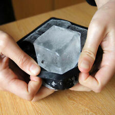 Big Giant King Size Large Silicone Kitchen DIY Ice Cube Square Tray Mold Mould