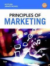 Principles of Marketing by Gary Armstrong and Philip T. Kotler (2014, Hardcover)