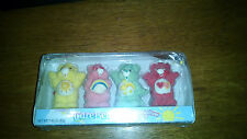 Set of 4 Care Bears Marshmallow Pals - Unopened Candy from 2006