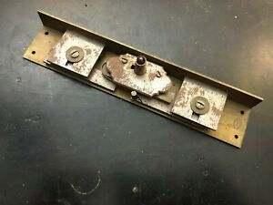 Antique French Brass Furniture Armoire Locks A. HUGON (No Keys)