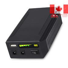 Rechargeable 72W 100WH 12V 8300mAh 9V 11000mAh 5V 20000mAh DC Output Portable...