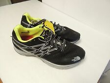 North Face Mens  running shoes ULTRA SMOOTH size 9 black/dayglo yellow NWT*SALE*