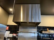 Stainless Steel Commercial Kitchen Canopy 1000L x 700H x 1350D x 1.2T, SS304