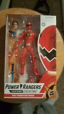 "Power Rangers Lightning Collection 6"" Dino Thunder Red Ranger Hasbro"