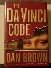 The Da Vinci Code by Dan Brown Robert Langdon #2 Hardcover