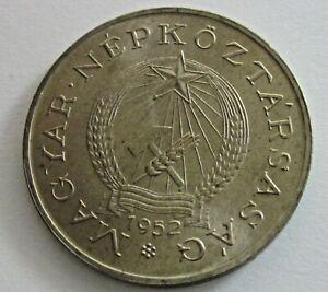 Hungary Copper Nickel 2 Forint 1952, KM 548