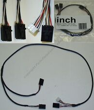 Lot10Y Splitter DUAL CDROM/CD/DVD/DVDRW Audio/Sound Card/Blaster Cable/Cord/Wire
