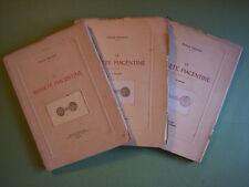 Paolo Falconi: LE MONETE PIACENTINE, ediz.anno 1914-1920 (Piacenza, numismatica)