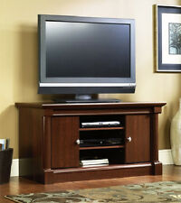 NEW TV Stand Entertainment Center Console Cherry Finish SHIPS FREE