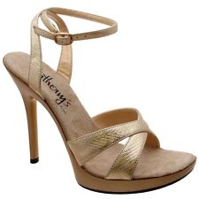 """A-511 Hot Sexy Shoes Mini Platform Stiletto 5"""" Heel With Ankle Strap Sandal."""