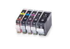 New 5PK Ink For Canon PGI-5BK CLI8 BK C M Y Pixma MP500 MP610 MP800R MX700 MX850