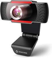 Webcam 1080P Full HD PC Web Camera w/ Microphone USB 2.0 Plug & Play Video Calls