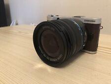 Samsung NX300 20.3MP Smart WiFi Mirrorless Digital Camera 18-55mm Lens Brown
