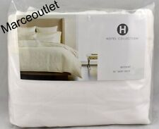 Hotel Collection Plume KING Bedskirt Off White