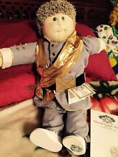 Little People CabbagePatch Xavier Roberts Hand Signed Southern RebelSoldier DoLL