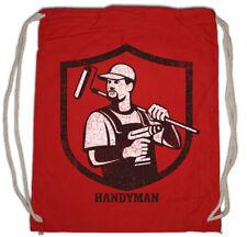 Handyman IV Turnbeutel Heimwerker Handwerker Handwerk Hammer Werkzeug
