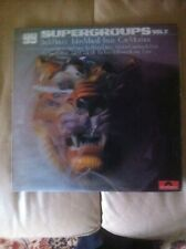 """Super Groups Vol 2"" 1969, Sampler Vinyl LP. Inc. Ginger Baker, Jack Bruce, etc."