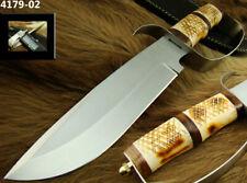 "ALISTAR 12"" CUSTOM HANDMADE STAINLESS STEEL KNIFE D-GUARD BOWIE KNIFE (4179-2"
