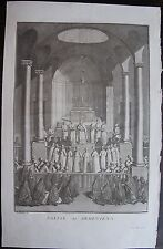 EGLISE DES ARMENIENS. ( MONTFAUCON:L'ANTIQUITE EXPLIQUEE......) 1722