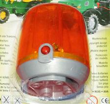 NEU Rolly Toys Ride Auf Traktor orange Blinklicht Leuchtfeuer