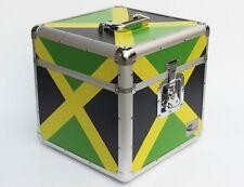 "Neo Zilla 100 LP VINYL 12"" Record DJ Jamaican Rasta Storage Aluminium DJ Flight"