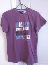 T-shirt garçon violet, 12 ans