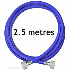 Universal Cold Water Dishwasher Straight Inlet Feed Hose Pipe (2.5 Metres)