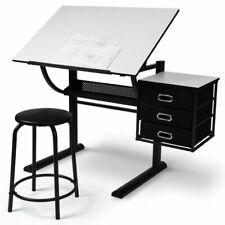 MIADOMODO STSH10 Ébauche Table avec Tabouret 119/76/60 cm - Bois/Acie/Plastique
