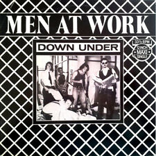 Men At Work Down Under Vinyl Single 12inch CBS