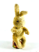 Vintage Japan Mechanical wind up Circus Rabbit REPAIR clockwork toy tin litho