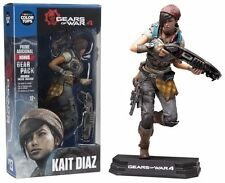 "McFarlane GEARS OF WAR 4 KAIT DIAZ 7"" Action Figure Blue Color Tops IN STOCK"