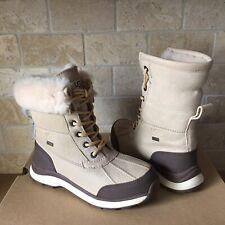 UGG Adirondack III Sand Beige Waterproof Leather Snow Boots Size US 8 Womens
