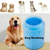 Silicone Dog Paw Cleaner Portable Pet Foot Washer Cup Paw Quickly Cleaning Brush