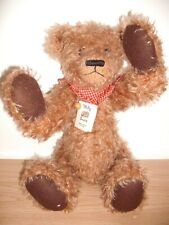 I'M BIGSY' A LOVELY MOHAIR/ PIN JOINT 'WELLY BEAR' LIMITED EDITION BY SALLY BIGG