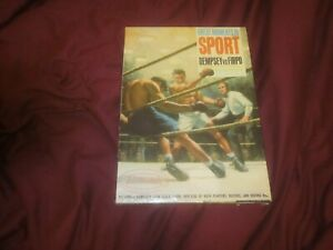 1965 Aurora Model Great Moments In Sport Jack Dempsey  Firpo Factory Sealed Box