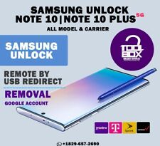 INSTANT Samsung Galaxy Note 10/Note 10+ T-MOBILE METRO PCS Remote Unlock Service