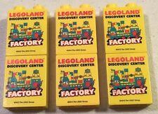 Lego Duplo Legoland Factory Discovery Center Bricks 2013 2014 Lot of 6