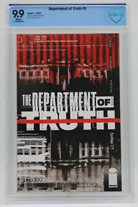 Department Of Truth (2020) #5 Simmonds Cover A CBCS 9.9 Blue Label White Pages
