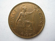 More details for 1931 bronze halfpenny unc