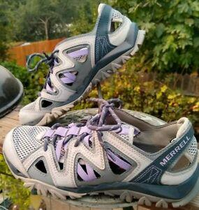 Women's  MERRELL Vapor River Sandals  Outdoor Hiking Shoes   8 M    EXCELLENT