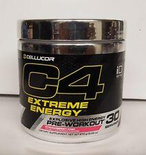 Cellucor C4 Extreme Energy 30 Servings Strawberry Kiwi Explosive Pre Workout