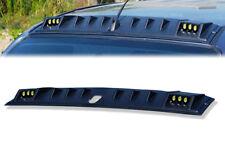 FRONT ROOF SPOILER MATTE MATT BLACK WITH LED FOR ISUZU D-MAX DMAX 2015 16 17