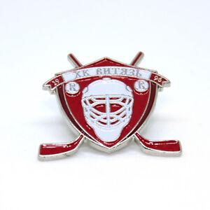 Vityaz Podolsk pin button badge brooch, KHL team, russian Ice Hockey club, HC