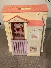 Set Vintage Barbie Dreamhouse no 16961 Plegable Pretty House 1996