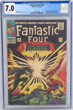 Marvel Comics Fantastic Four #53 CGC 7.0 1st Klaw 2nd Black Panther Kirby 1966
