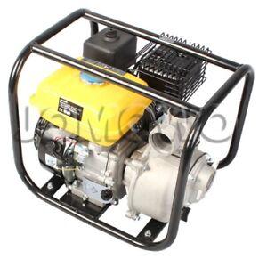 JOMOWO Benzin Wasserpumpe 50-30, 30k l/h, 2,6 bar, 6,5 PS Gartenpumpe