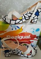 Amazing Designer Desigual Wedges UK7 EU40