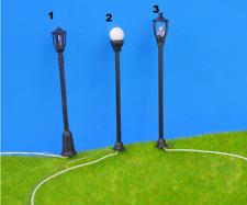 Lot 20 lampadaires HO model au choix